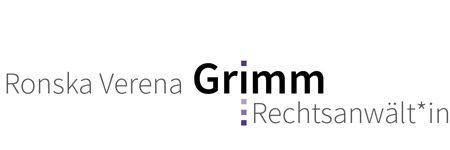 Rechtsanwältin Grimm